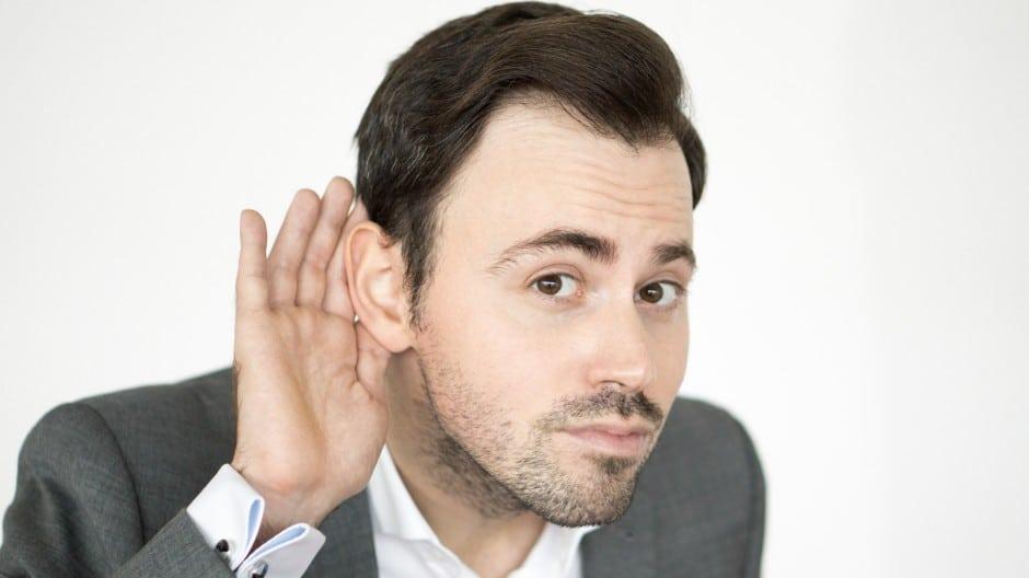 Aktives Zuhören – Wie Du mit den 7 Stufen des Zuhörens mehr Menschen überzeugst!