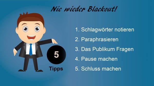 Nie wieder Blackout | Argumentorik