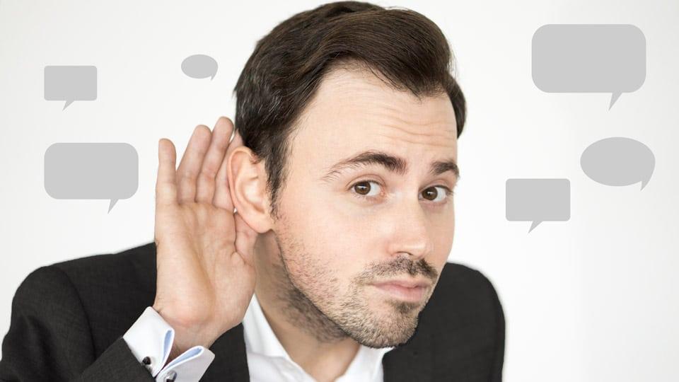 Aktives Zuhören: 7 Stufen des Zuhörens | Argumentorik